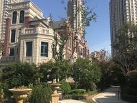 悦荣府联排别墅358平。实得700平1188万三面大花园带地下室免过户费