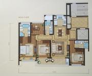 绿城锦玉园,4室2厅2卫,130平米(建面)