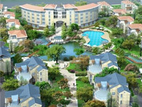 上海花园排屋外送大花园 加房屋面积半亩 380平米 1600万