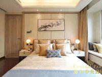 中驰湖滨 楼王高层边套180平方豪华装修。实际200平方看到清和公园