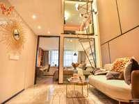 蝴蝶广场公寓精装修跃层一手直签首付30万起 餐饮商铺娱乐高端商业街