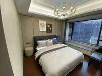 出租富力中央公园商品房160平方精装修4室3厅空调全齐,有车位居住或办公