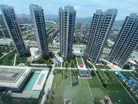 出租富 力中央公园商品房135平方精装修,中央公调热水器适合居住或商业办公楼